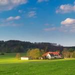 Landschaft um Stahleckerhof