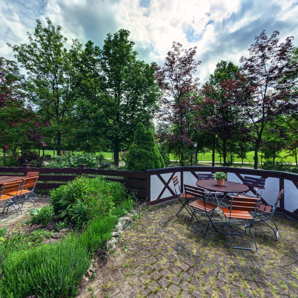 Gartenterrasse Stahleckerhof