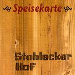 Speisekarte Stahlecker Hof